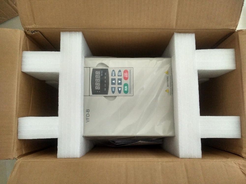 VFD110B43A DELTA VFD-B VFD Inverter Frequency converter 11kw 15HP 3 PHASE 380V 400HZ General vector type vfd110cp43b 21 delta vfd cp2000 vfd inverter frequency converter 11kw 15hp 3ph ac380 480v 600hz fan and water pump