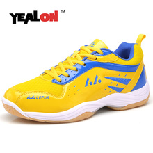 YEALON Badminton Shoes For Men Training Breathable Hard-Wearing Anti-Slippery Light Sneakers Sport Womens Shoe Badminton Cushion