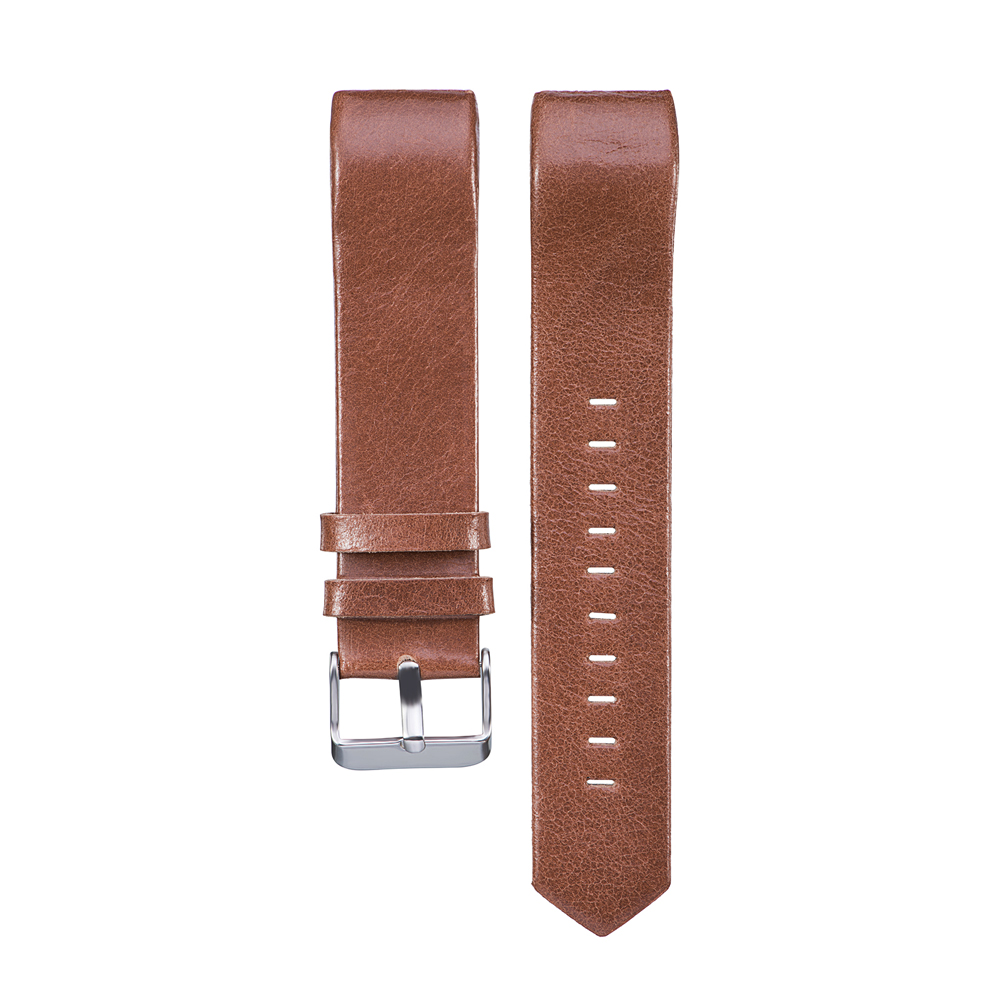 Luxurious Leather Watchband Replacement for FItbit Charge 2 Accessories sport Smart Watch Band Replacement  with Buckle 8 Colors