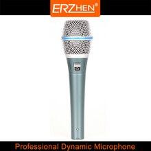 Microfone profissional dinâmico R-M87 alta qualidade dinâmico microfone de gravação do microfone