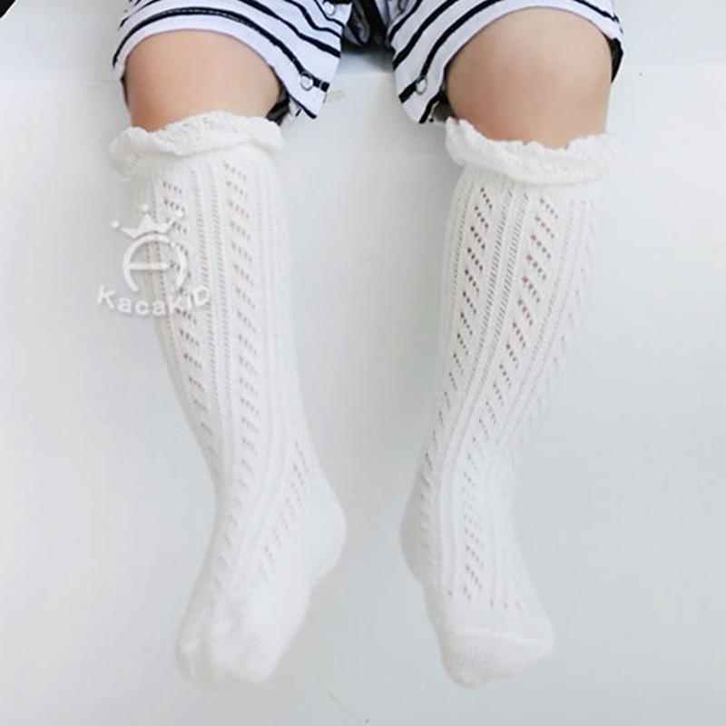 0-3 Years New Breathable Summer Baby Socks Cotton Knee High For Newborns Boys Girls Kids Infant Childrens Socks Bebe Clothes