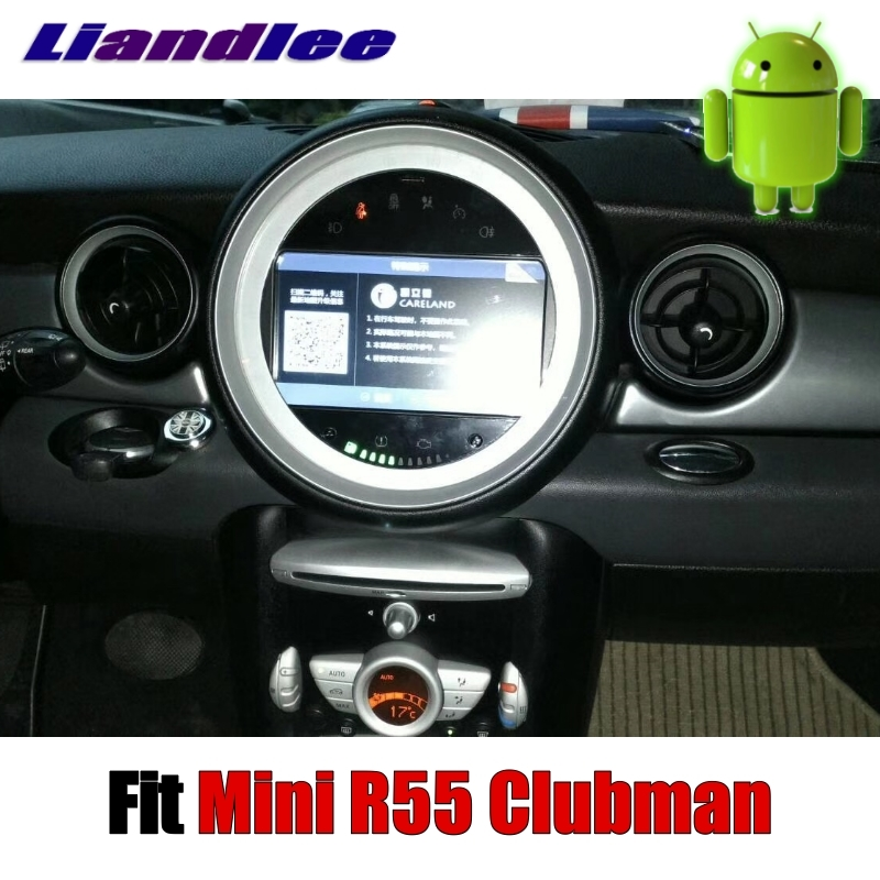 Sale Liandlee Car Multimedia No DVD Player NAVI For Mini Clubman R55 2007~2014 Android system Car Radio Stereo GPS Map Navigation 4