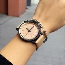 Classique 2016 Nouveau Mode Simple Style Top Célèbre marque De Luxe quartz montre Femmes En Cuir décontractée montres chaude Horloge Reloj mujeres