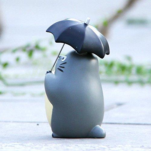 Action Figures Studio Ghibli – My Neighbor Totoro – 10cm Totoro with Umbrella Resin 4″ Figure Statue