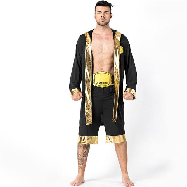 Men's Boxing Player Costume