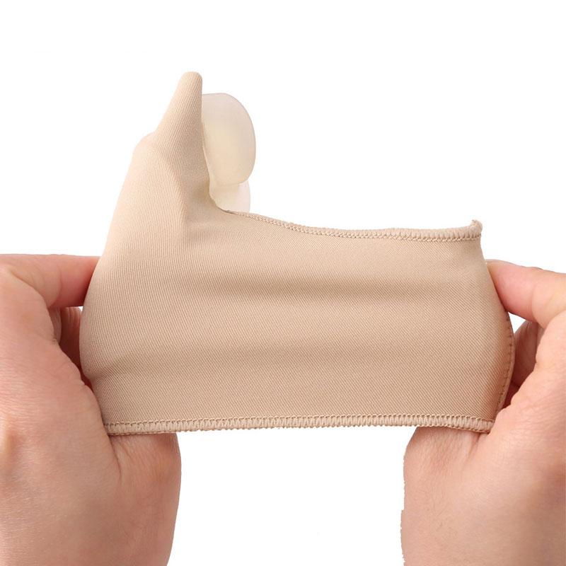 1 par dedo pulgar ortopédico juanete corrector pedicura calcetín de - Herramienta de cuidado de la piel - foto 6