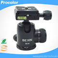 "1/4"" Screw Photography Camera Tripod Ball Head 360 Degree Fluid Rotation Ballhead For DSLR Camera"