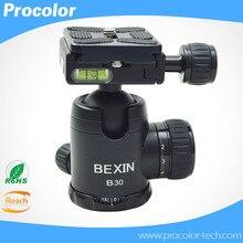 1/4″ Screw Photography Camera Tripod Ball Head 360 Degree Fluid Rotation Ballhead For DSLR Camera