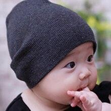 1 шт. с принтом я люблю мама папа детские Новая меховая шапка с Демисезонный детские вязаные теплые хлопковые Вязанные Шапочки для детей, для девочек и мальчиков