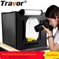 Travor F40 LED Folding Photo Studio Softbox Lightbox 40*40 light Tent with white yellow black background Accessories box light