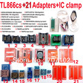 Original TL866CS Universal minipro programmer +21  adapters +IC clip High speed TL866 AVR PIC Bios 51 MCU Flash EPROM Programmer
