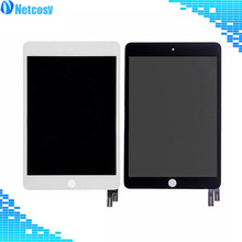 For ipad mini 4 LCD Screen High quality Black / White LCD display+Touch screen digitizer assembly For ipad mini 4 A1538 A1550