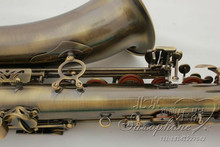 United States imports 54 Salma B flat tenor saxophone antique copper  sound quality Promotions