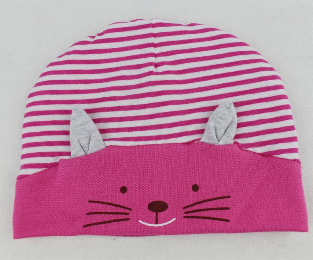 b0b1d3fac7c Cute Cat Warm Winter Autumn Newborn Crochet Baby Hat Girl Boy Cap Children  Beanie Infant Cotton knitted toddlers Striped Kitty