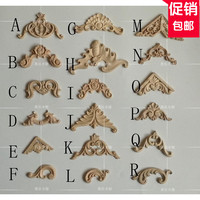 Small Commodity Wood Applique European Wood Trim Decorative Decals Door And Table Decorated With Carved