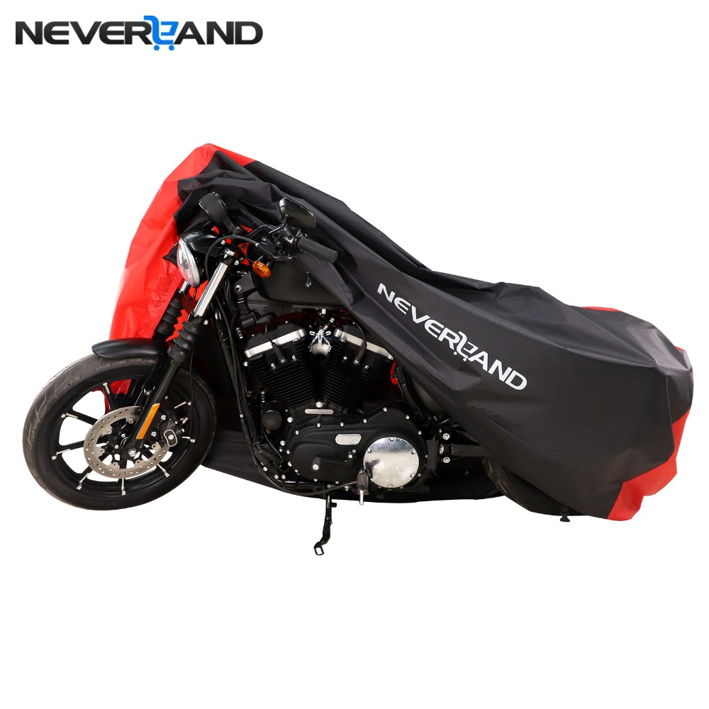 M L XL 2XL 3XL Motorcycle Covers Outdoor Indoor Scooter Rain UV Dust Protective Cover for Harley Honda suzuki Lock-holes цена