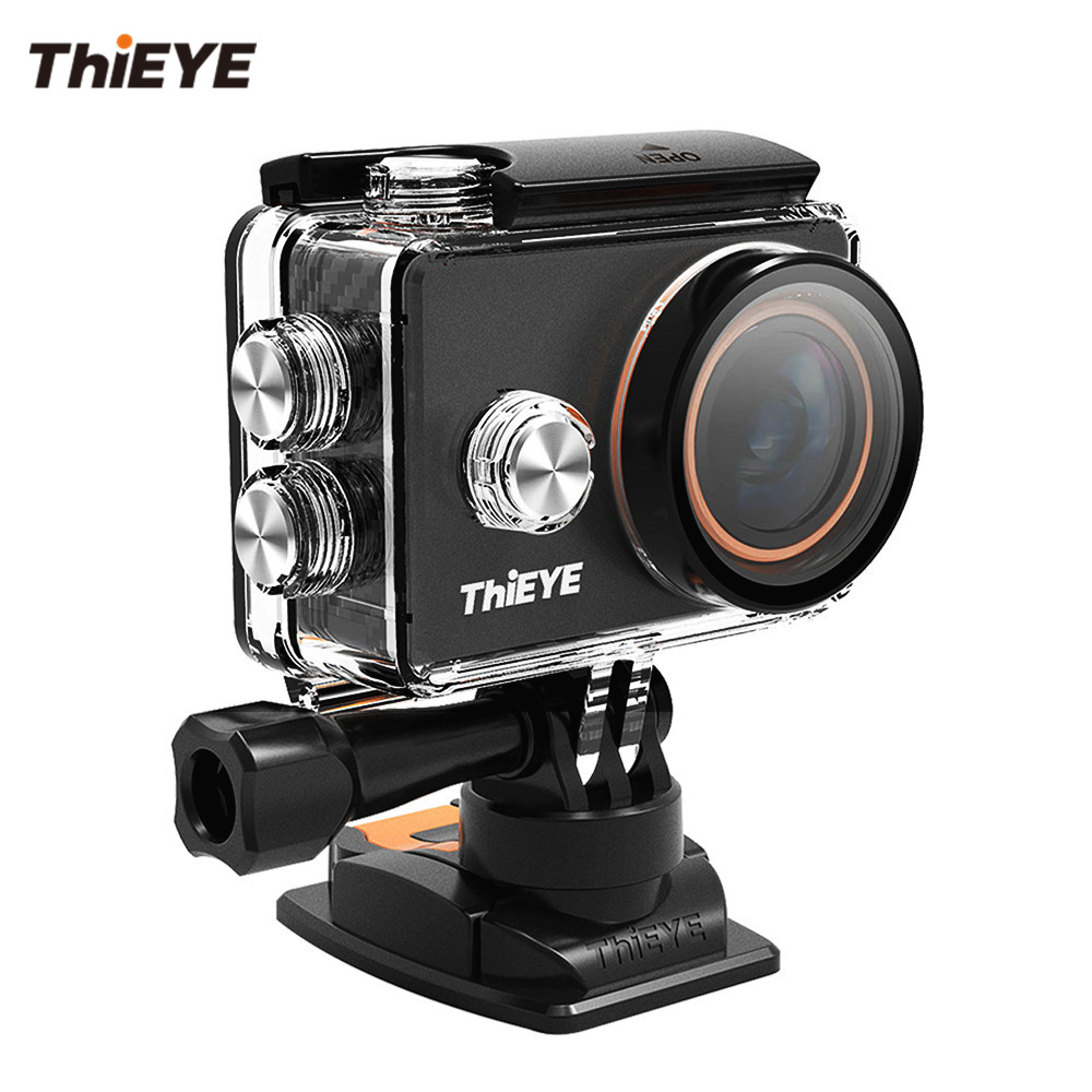 ThiEYE V6 4K WiFi Action Camera with Filters and Metallic Design Underwater Sports Mini Camera Go Pro Helmet Cam thieye t5e wifi 4k action camera black