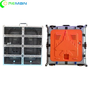 Image 2 - הזול ביותר מחיר ריק led תצוגת קבינט 640mm x 640mm, למות הליהוק אלומיניום led קבינט עבור p5 p10 led מודול 320x160mm