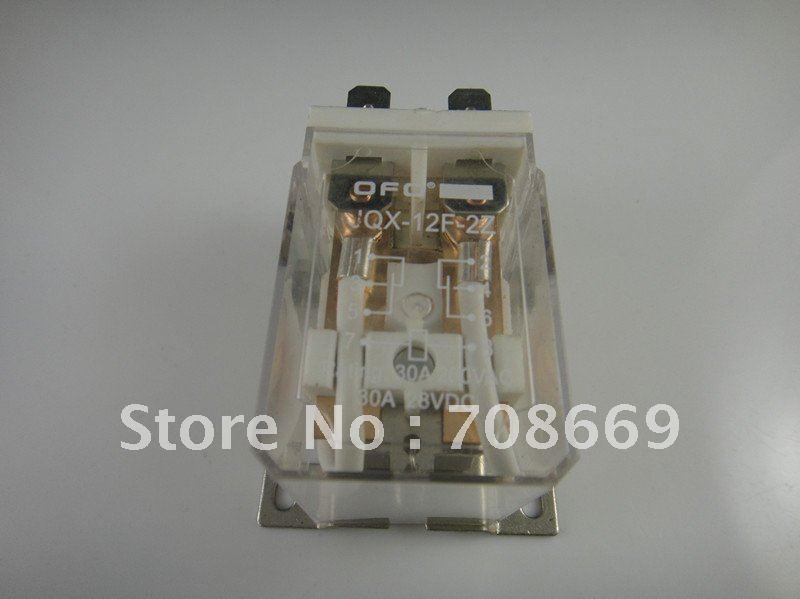 цена на JQX-12F 30A 2Z AC 220V Coil PCB Power Relay 220VAC