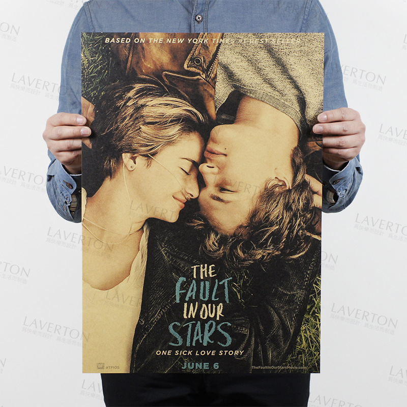 The Fault In Our Stars/classic Movie Film/kraft Paper/Cafe/bar Poster/Retro Poster/decorative Painting 51x35.5cm Free Shipping