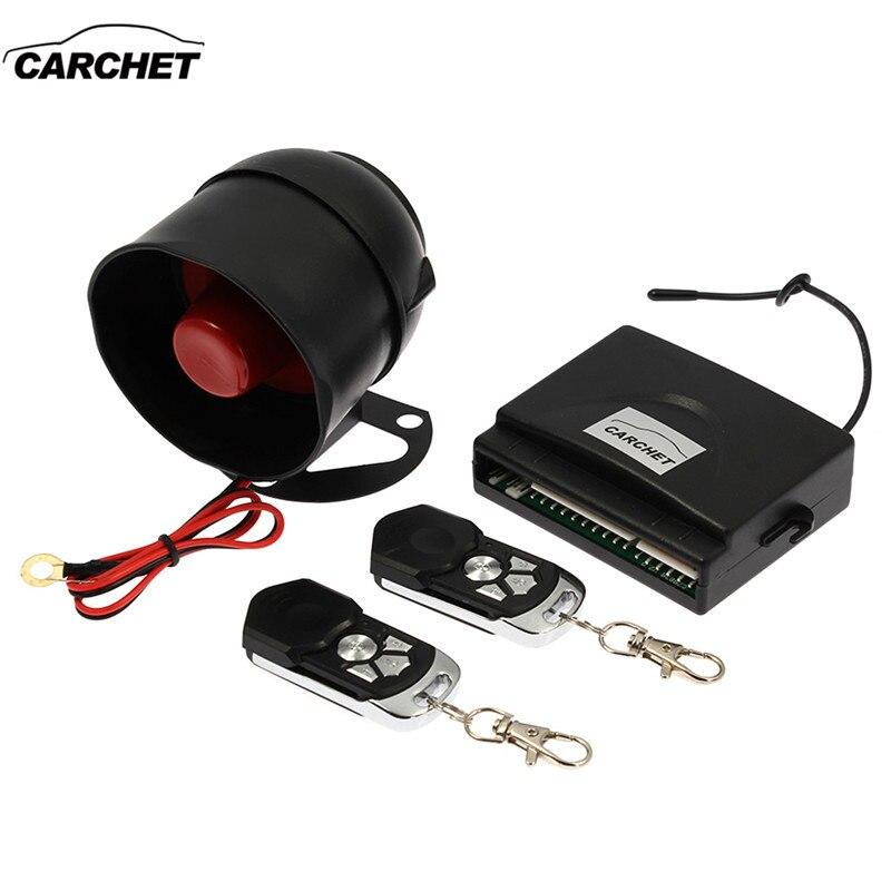 Système d'alarme automatique pour voiture CARCHET système de verrouillage Central à distance sans clé pour véhicule Toyota Honda Ford VW