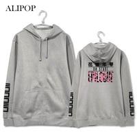 Youpop KPOP BTS Bangtan Boys Junge Forever Album Hoodie Fleece Pullover Mit Hut Kleidung Pullover Gedruckt Langarm Sweatshirts