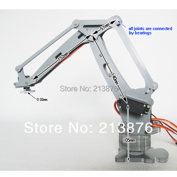 open source compatible with arduino USB powered 4 axis
