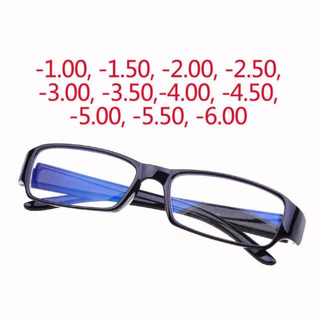 2f7330e918d Online Shop -1.0 to -6.0 Finished myopia Eyeglasses 2018 Hot Men Women  coating Anti-radiation Lens prescription Optical Eye Glasses Frames