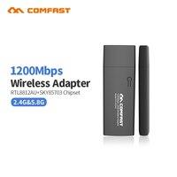 1200Mbps USB 3 0 Wi Fi Dual Band Wireless Adapter Comfast CF 912AC RTL8812L 802 11AC