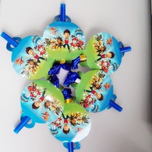 Colorful Puppy Patrol Dogs Cartoon Funny Whistles Children Birthday Party Supplies