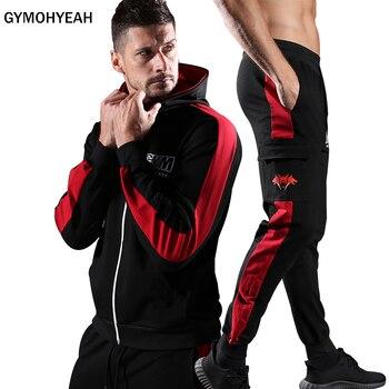 Gymohsí conjuntos deportivos para hombre 6309bd072294
