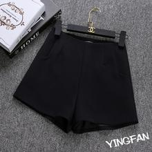 Black White Women Short Pants