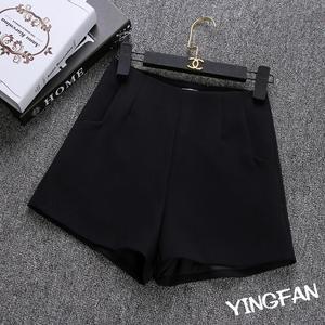 Image 3 - 2020 New Summer hot Fashion New Women Shorts Skirts High Waist Casual Suit Shorts Black White Women Short Pants Ladies Shorts