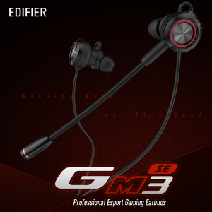 Image 2 - EDIFIER GM3SE gaming headset Dual mics Dual moving coils Precise Acoustic Positioning Arc shaped earwings earphone