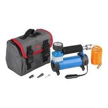 Компрессор автомобильный ЗУБР 61125 (давление 7 бар, производительность 35 л/мин, сумка)