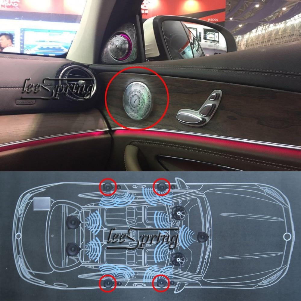 Mi-tweeter de voiture pour mercedes-benz classe E (w213) classe C (w205) classe GLC (w253)