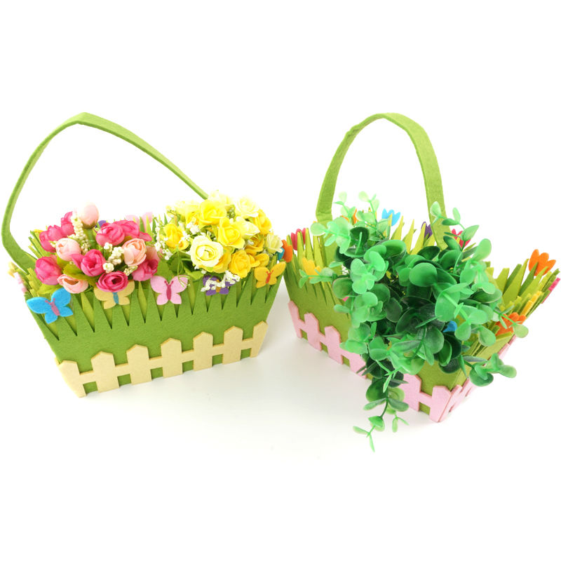 Non Woven Basket : Get cheap fabric storage basket green aliexpress