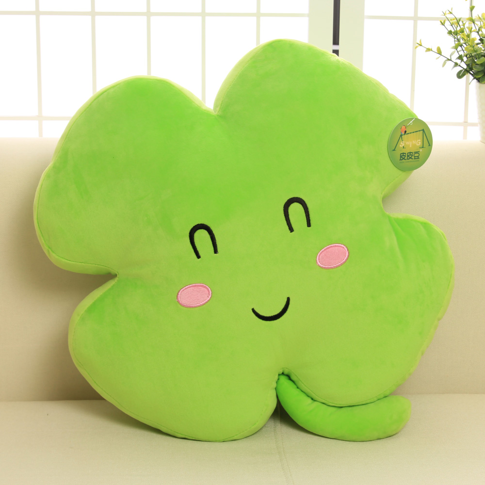 Aliexpress Buy Super Funny Plush Toy Lucky Four Leaf
