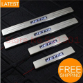 for LED Stainless Steel Door Sill Scuff Plate For Volkswagen VW JETTA MK6 2011-2013 car accessories car-styling for