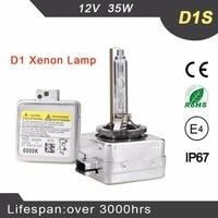 2pcs 12v 35w D1s Xenon Bulb 4300K 6000K 8000K D1s Xenon 4300k AUTO HID Xenon Bulb