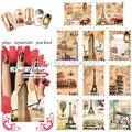 HOTSALE 50 Hoja/LOT tatuajes de Agua Nail Art Stickers postage stamp nail etiqueta De Dedo de la Manera Desgin + Separada embalado