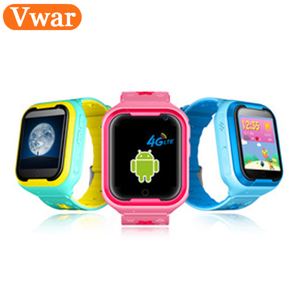 VW50 4G Network GPS WIFI Smart Watch Baby Watch With Camera for Apple Android Phone kids Watch Track Children Smart Electronic hold mi q90 gps phone positioning fashion children watch 1 22 inch color touch screen wifi sos smart watch baby q80 q50 q60