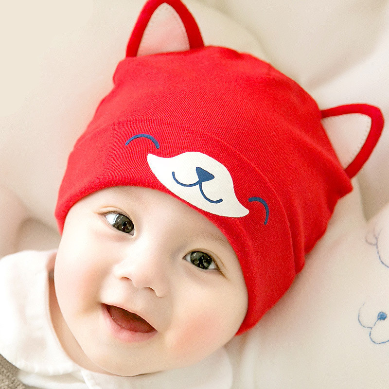 Cute Dog Design Baby Hat Scarf Set Cartoon Soft Baby Beanies Knitted Warm Winter baby Hats cap for boy newborn photography props in Hats Caps from Mother Kids