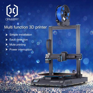 2019 Newest Artillery 3d printer Sidewinder X1 Ultra-quiet Driver TFT Touch Screen Dual Z axis Resume Printing 3d printer kit(China)