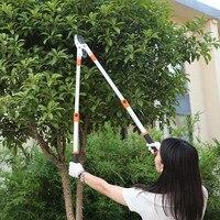 FIRMOR SK5 Blade Professional Bypass Lopper Labor Saving Telescopic High Branch Scissors Garden Tools Maximum length 102cm