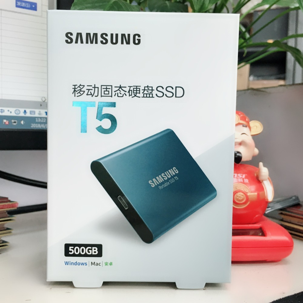 Samsung PC Portable SSD T5 250GB 500GB 250G 500G External Solid State Drives SSD USB 3.1 жесткий диск samsung portable ssd t5 250gb mu pa250b ww