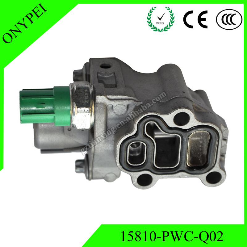 High Quality 15810 PWC Q02 Vtec Solenoid Spool Valve Assy For Honda Fit 2007 2008 1