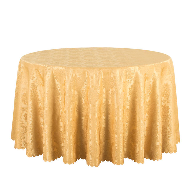 10PCS Wholesale Hotel Wedding Round Tablecloth Solid Jacquard Table Cloths  Square Decor Table Linen Red Black
