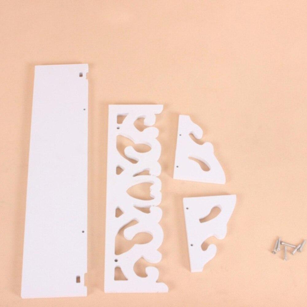Полки для хранения стеллаж держатель для хранения полый туалетные принадлежности древесина хозяйственного назначения удобный