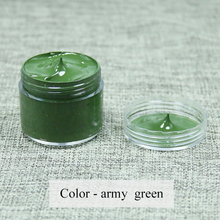 army green - Leather coloring paste,leather bag,sofa, shoe,clothing,refurbished to change color